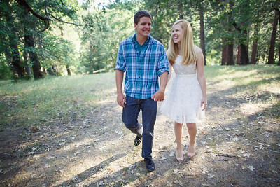 Calvin & Sara - Palomar Mountain Engagement Session 012