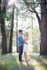 Calvin & Sara - Palomar Mountain Engagement Session 004