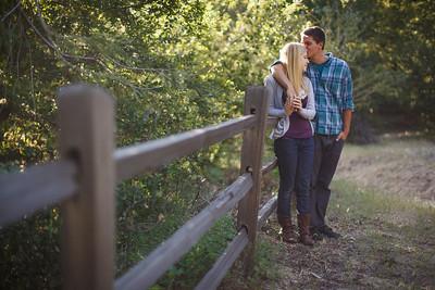 Calvin & Sara - Palomar Mountain Engagement Session 038