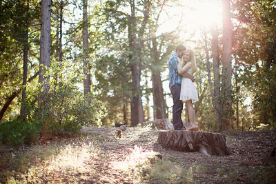 Calvin & Sara - Palomar Mountain Engagement Session 020