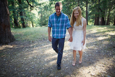 Calvin & Sara - Palomar Mountain Engagement Session 013