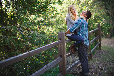 Calvin & Sara - Palomar Mountain Engagement Session 042