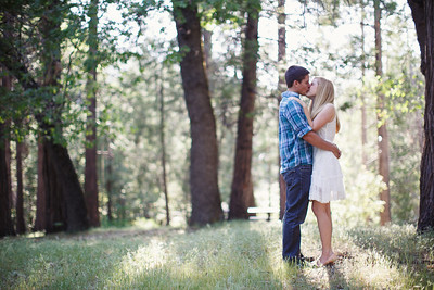 Calvin & Sara - Palomar Mountain Engagement Session 006