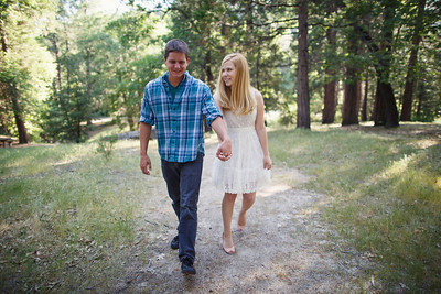 Calvin & Sara - Palomar Mountain Engagement Session 009