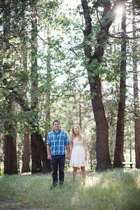 Calvin & Sara - Palomar Mountain Engagement Session 001