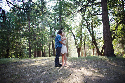 Calvin & Sara - Palomar Mountain Engagement Session 015