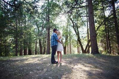 Calvin & Sara - Palomar Mountain Engagement Session 016