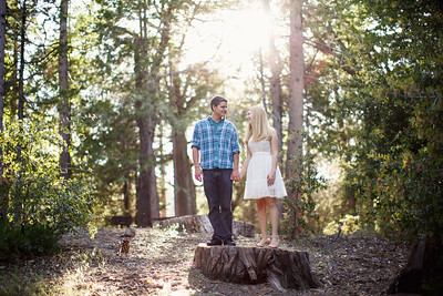 Calvin & Sara - Palomar Mountain Engagement Session 017