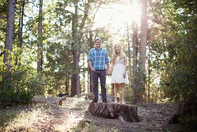 Calvin & Sara - Palomar Mountain Engagement Session 018