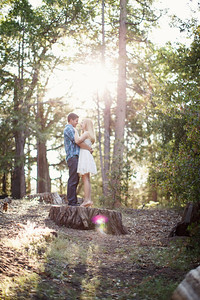 Calvin & Sara - Palomar Mountain Engagement Session 019