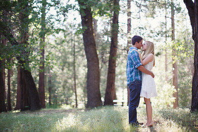Calvin & Sara - Palomar Mountain Engagement Session 005