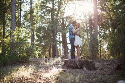 Calvin & Sara - Palomar Mountain Engagement Session 022
