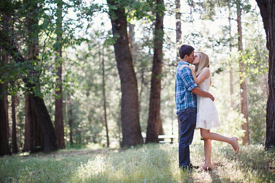 Calvin & Sara - Palomar Mountain Engagement Session 007