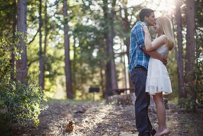 Calvin & Sara - Palomar Mountain Engagement Session 024