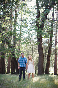 Calvin & Sara - Palomar Mountain Engagement Session 002