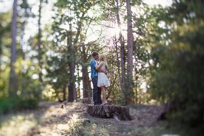 Calvin & Sara - Palomar Mountain Engagement Session 027