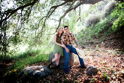 Mike & Brittany - Pauma Valley Engagement Session 014