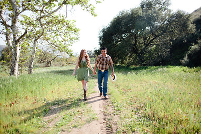 Mike & Brittany - Pauma Valley Engagement Session 024