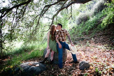 Mike & Brittany - Pauma Valley Engagement Session 013
