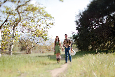 Mike & Brittany - Pauma Valley Engagement Session 023