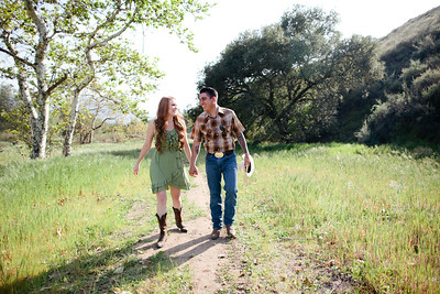 Mike & Brittany - Pauma Valley Engagement Session 027
