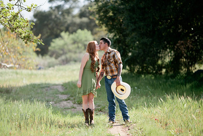 Mike & Brittany - Pauma Valley Engagement Session 021