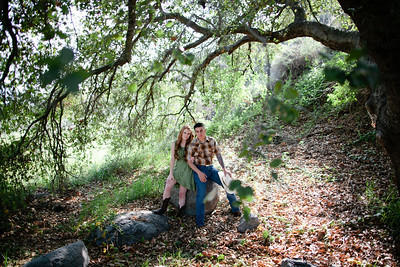 Mike & Brittany - Pauma Valley Engagement Session 011