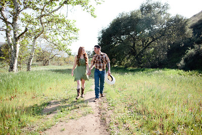 Mike & Brittany - Pauma Valley Engagement Session 025