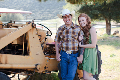 Mike & Brittany - Pauma Valley Engagement Session 039