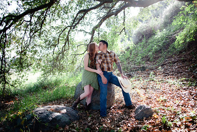 Mike & Brittany - Pauma Valley Engagement Session 015