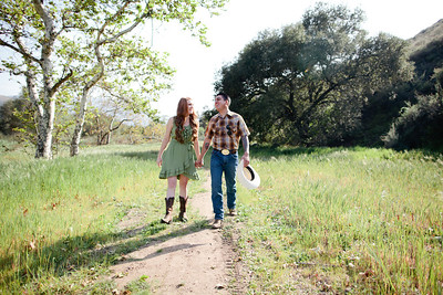 Mike & Brittany - Pauma Valley Engagement Session 026