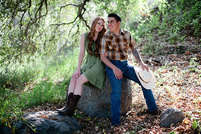 Mike & Brittany - Pauma Valley Engagement Session 009