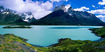 Cuernos del Paine sobre el Lago Nordenskjold, P.N. Torres del Paine, Chile