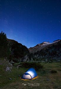 Durmiendo bajo las estrellas, P.Nt. Posets y Maladeta, Huesca