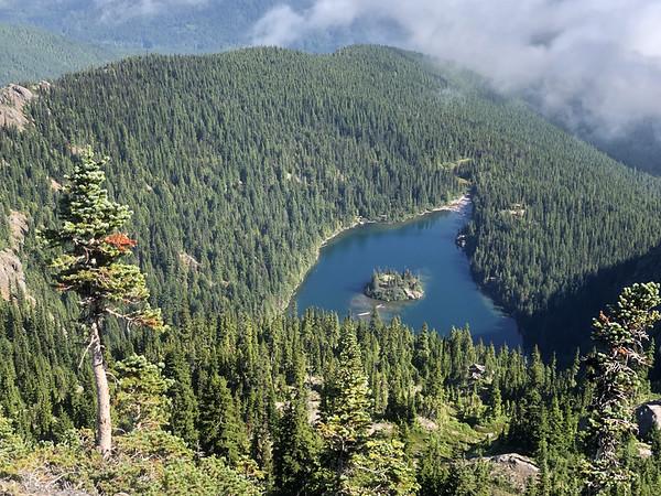 Lake Angeles from the Ridge