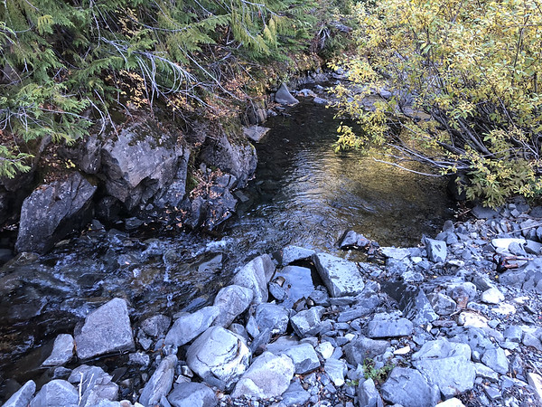 Stream for filtered water