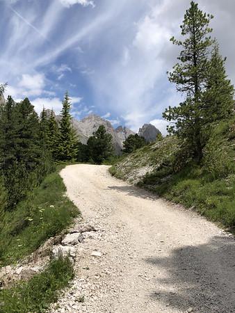 Gravel roads!