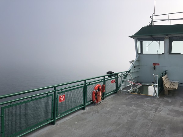 The view from the PT - Coupeville ferry