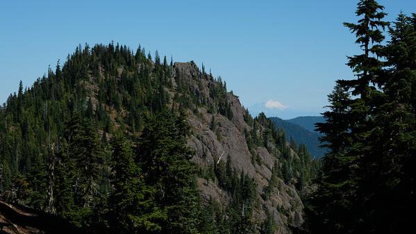 Mt Rainier from my lunch spot