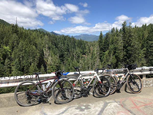 Bikes on the High Steel Bridge