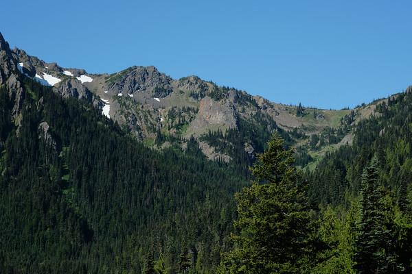 View to the ridge