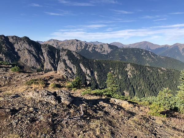 Mt Townsend summit