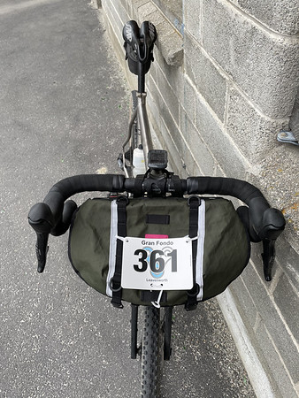 Number attached, ready to ride