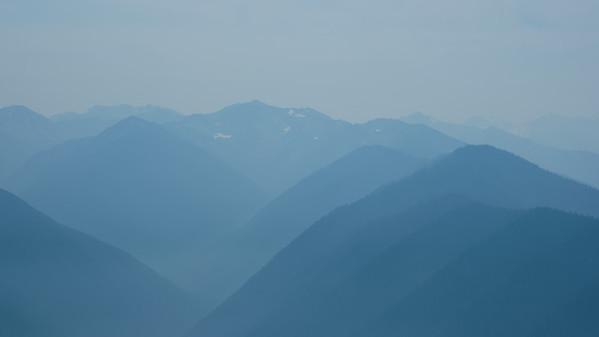 Shades of smoky blue