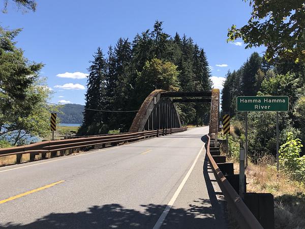 Bridge over the Hamma Hamma river