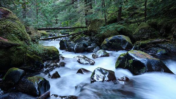 Boulders in Royal Creek