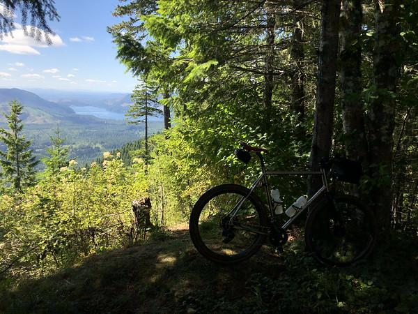 Primo bikepacking spot!
