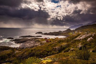 Nesland coast, Islas Lofoten, Noruega