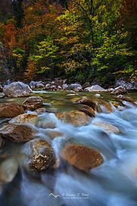 Aguas de otoño II. Valle de Ansó, Huesca
