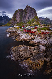 Hamnøy,Islas Lofoten, Noruega
